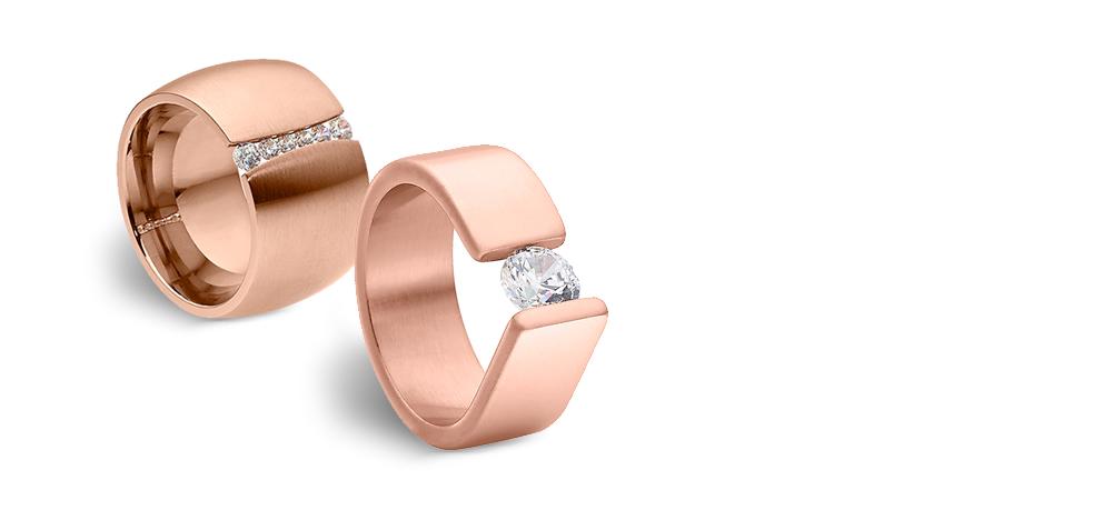 Roségold Ringe